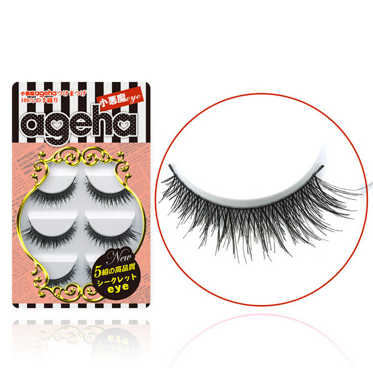 Little Devil ageha Japanese False Eyelashes Five Pairs W007