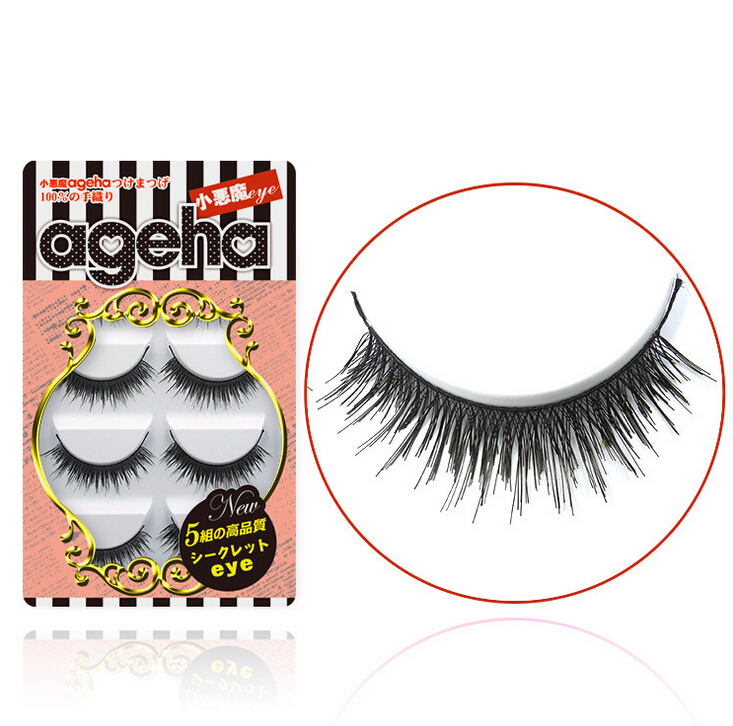 Little Devil ageha Japanese False Eyelashes Five Pairs W009