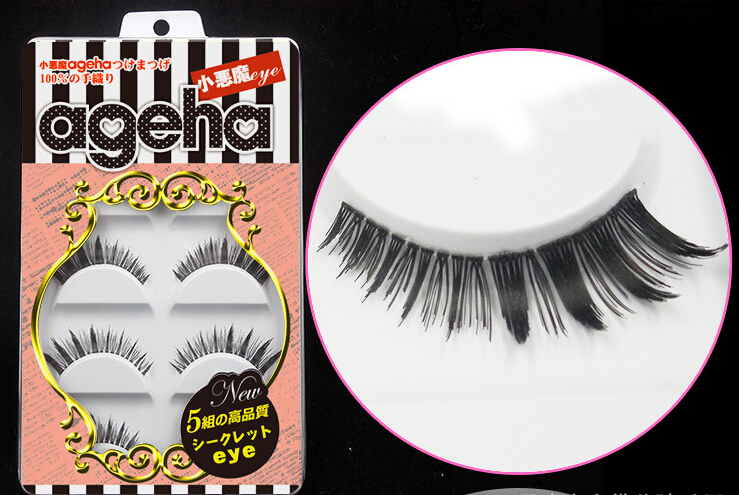 Little Devil ageha Japanese False Eyelashes Five Pairs W018
