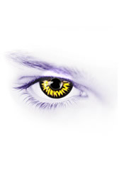 Werewolf Halloween Colored Contacts (PAIR)