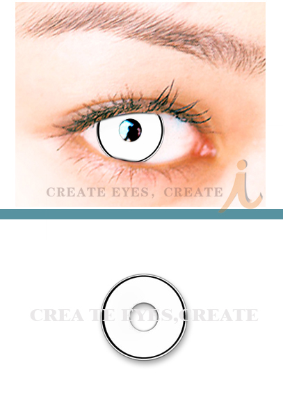 Marilyn Manson Contacts - White Manson Colored Contacts