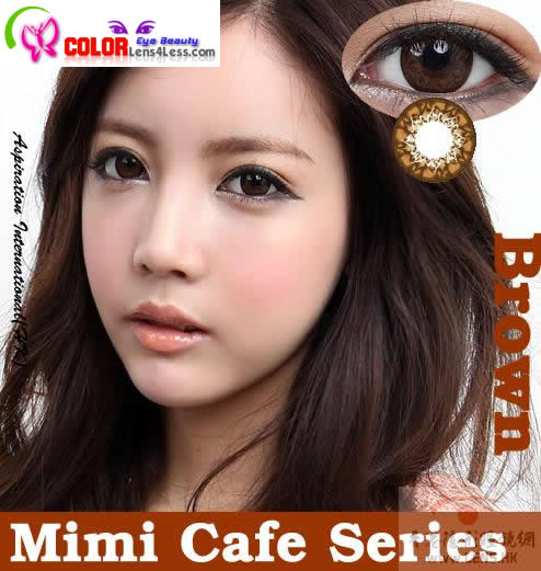 CIB MIMI Cafe Brown Colored Contacts (PAIR)