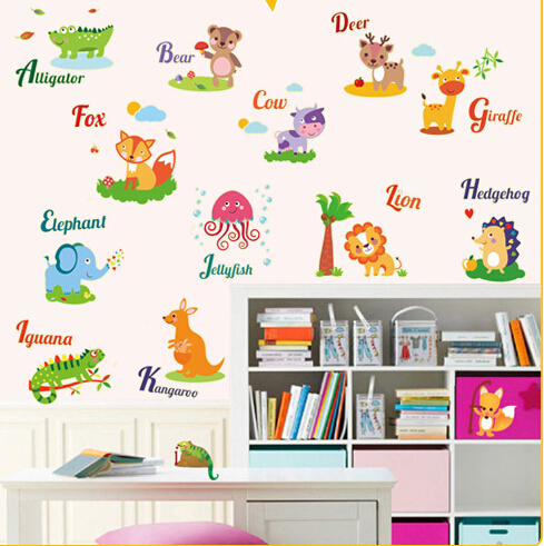 Animal Glow in The Dark Wall Sticker