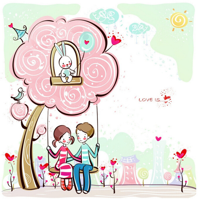Love is Wall Sticker Window Sticker