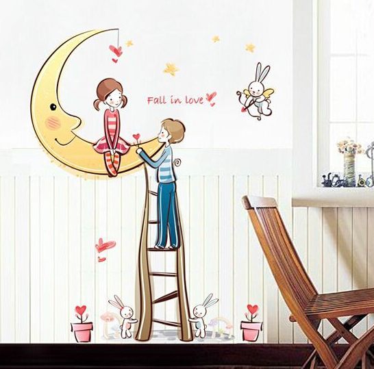 Fall in Love Window Sticker Wall Sticker