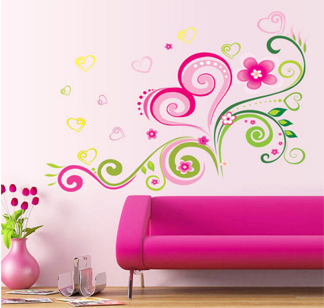 Colorful Love Wall Sticker