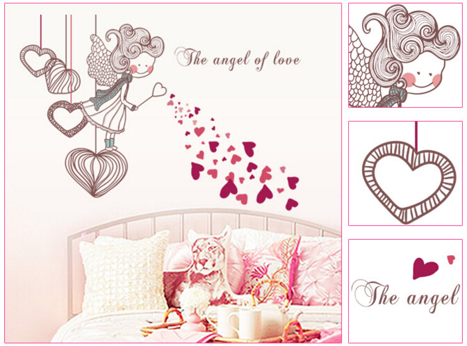 The Angel Of Love Wall Sticker