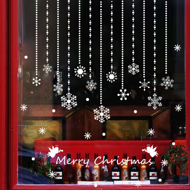 Christmas Creative Snowflake Window Sticker