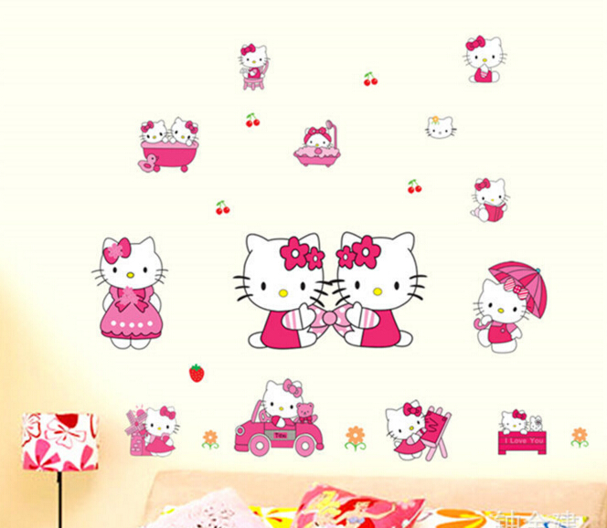 Hello Kitty Window Sticker Wall Sticker