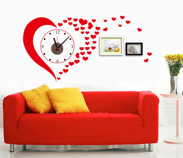 Happy Times Clock Wall Sticker