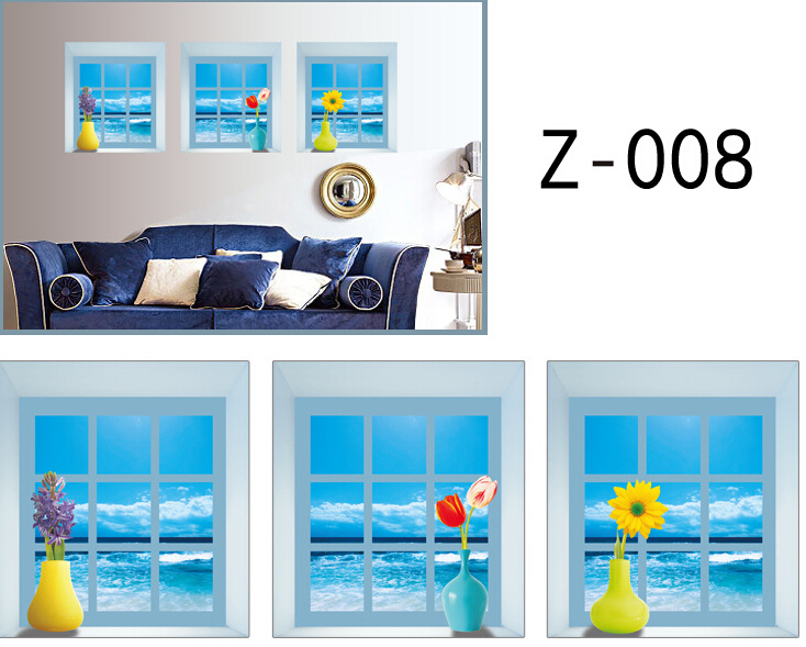 Seaview 3D Wall Sticker