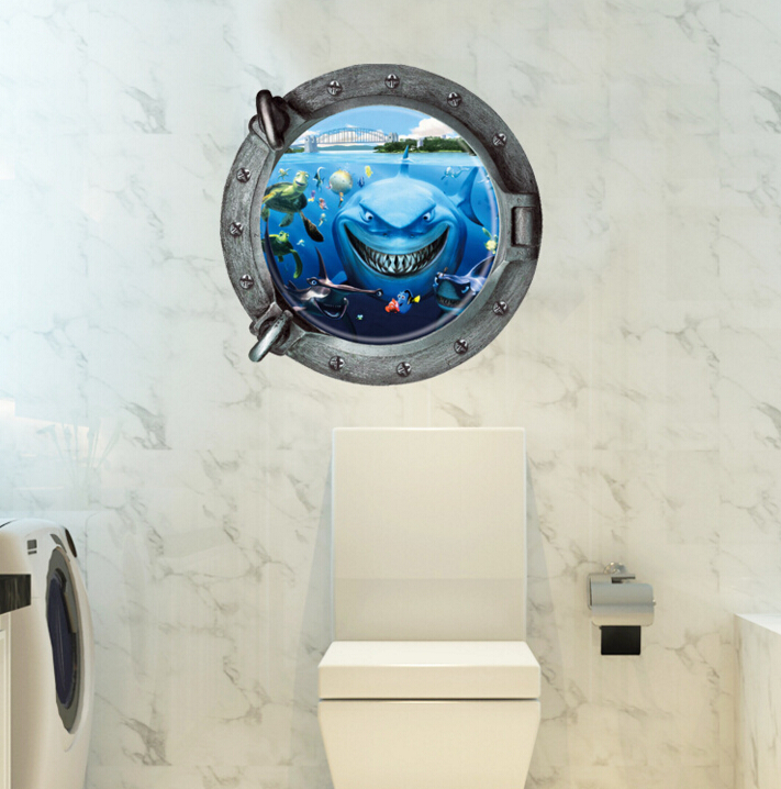 Sharks 3D Wall Sticker