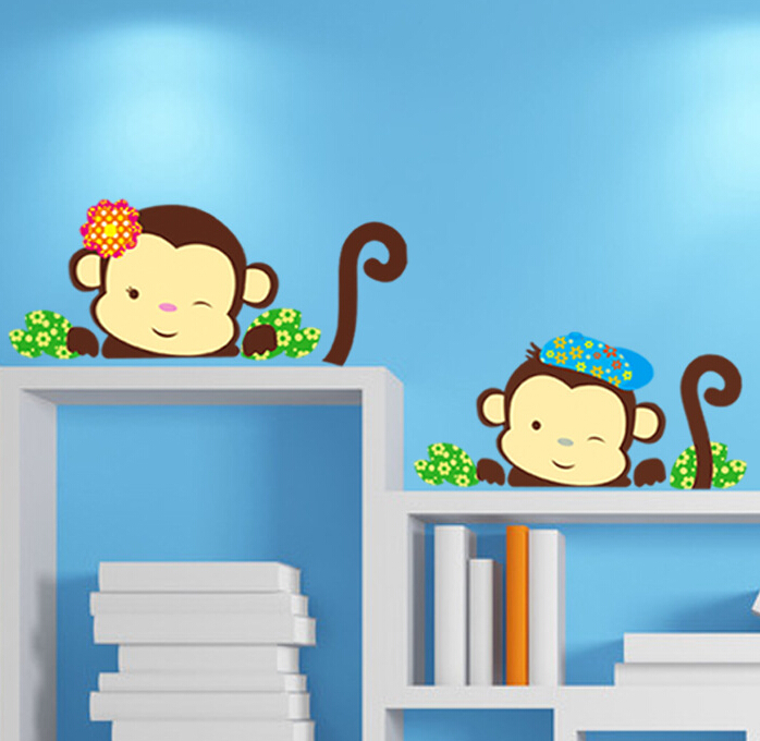 Beautiful Monkey Window Sticker Wall Sticker